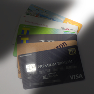 ショップ・モールブランドのクレジットカード・画像